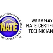 We employ NATE-certified techs