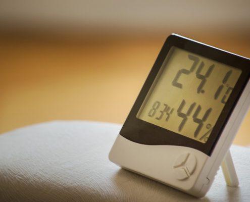 A digital timer.