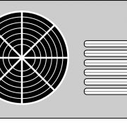 An air conditioner.