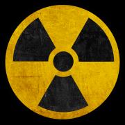 Radioactive warning image.