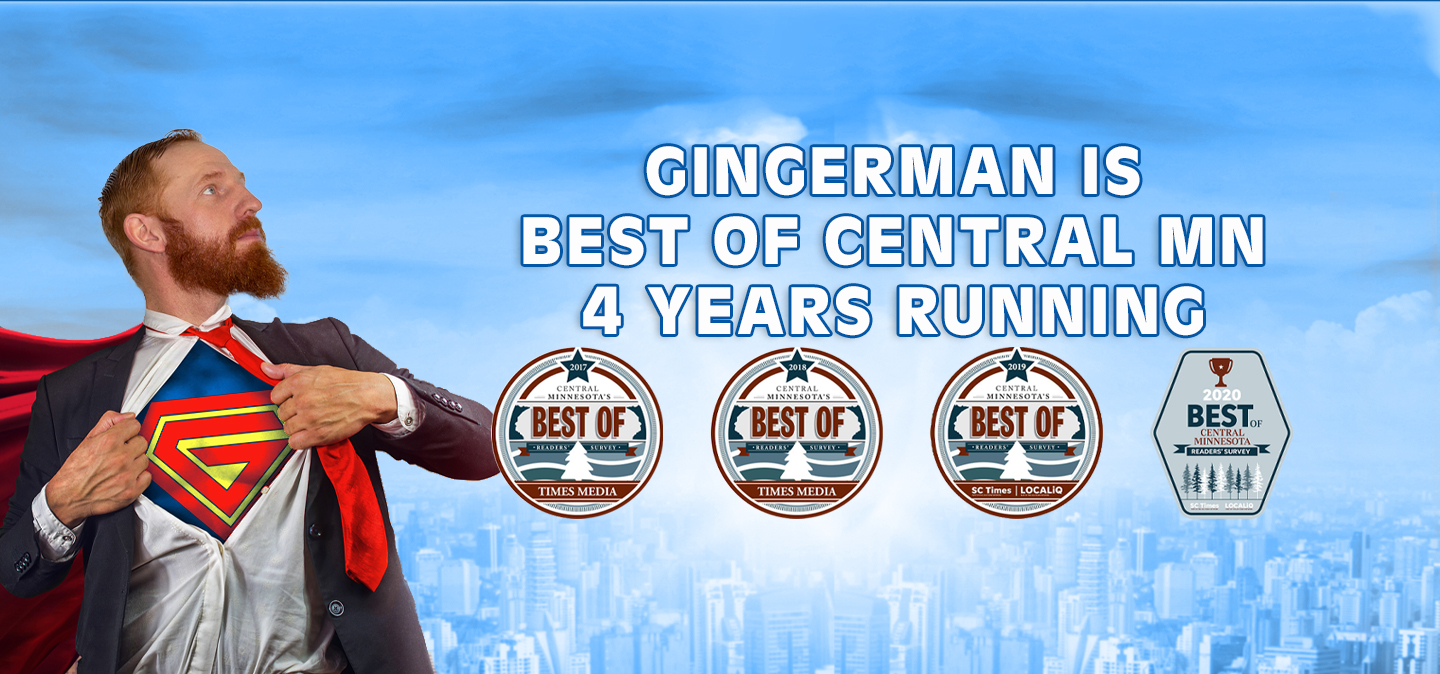 Gingerman is Best of Central MN 4 Years Running